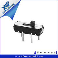 two pole four position slide switch voltmeter selector switch