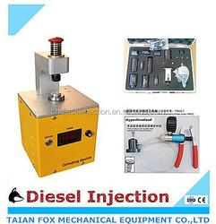Common rail diesel injector control valve grind machine