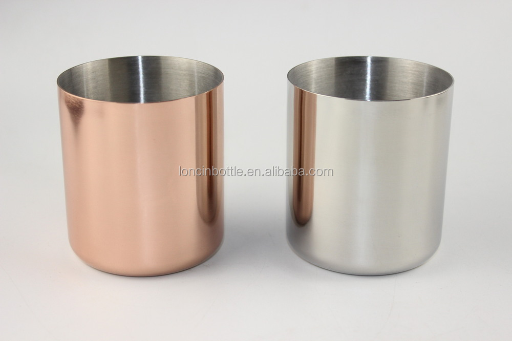 Wholesale Soy Wax Copper Vessel Rose Gold Candle Holder