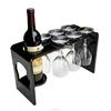 Black Acrylic Wine Bottle Holder