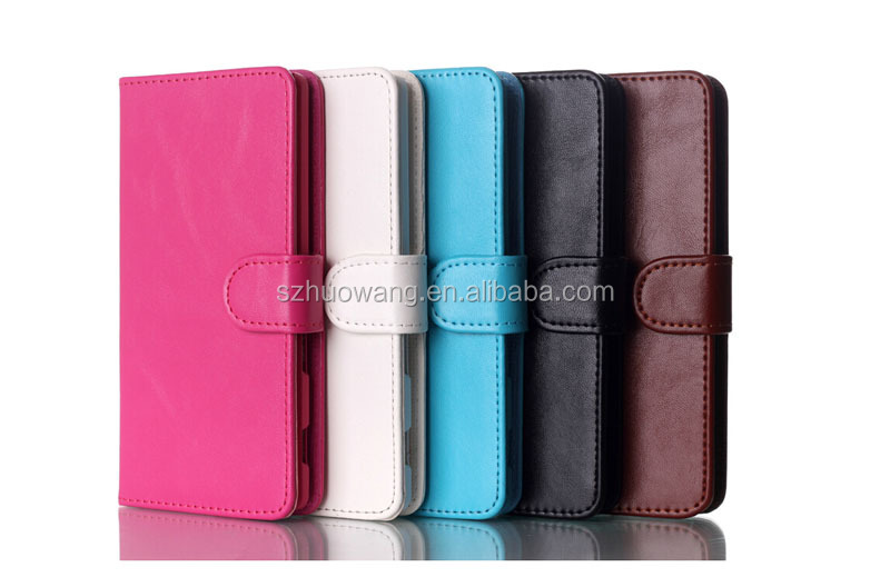 card slot leather case for lg g3, flip mobile phone case for lg g3