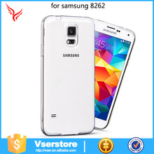 Factory direct Custom logo clear silicon TPU case for Samsung galaxy core i8262