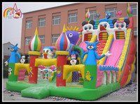 giant inflatable mickey slide inflatable giant castle bouncer inflatable fun city