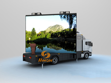 outdoor P10 full color advertising mobile led display for truck/vehicle/car led billboard