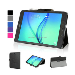Folio Stand Flip Leather Case for Samsung Galaxy Tab A 9.7 T550