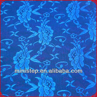 heavy and frech style stretch jacquard lace fabric