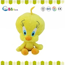 ICS Authorization factory New and hot personalized gifts plush toys/yellow chicken plush toys