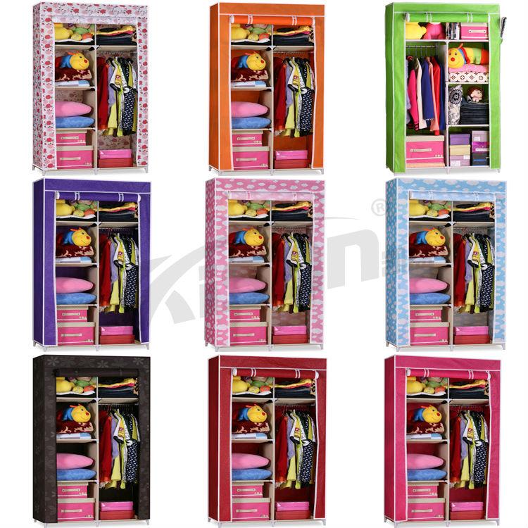 Aparador De Parede Luta ~ N u00e3o tecido roupeiro closet, foldable tecido roupeiros