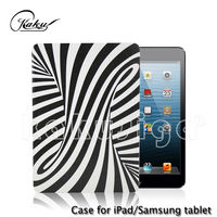 Fashion zebra-stripe tablet case 11""