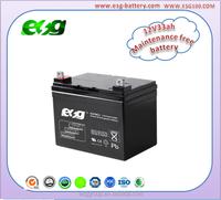 12v33ah Selead lead acid battery Maintenance free battery AGM battery