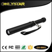 China metal torch light baton
