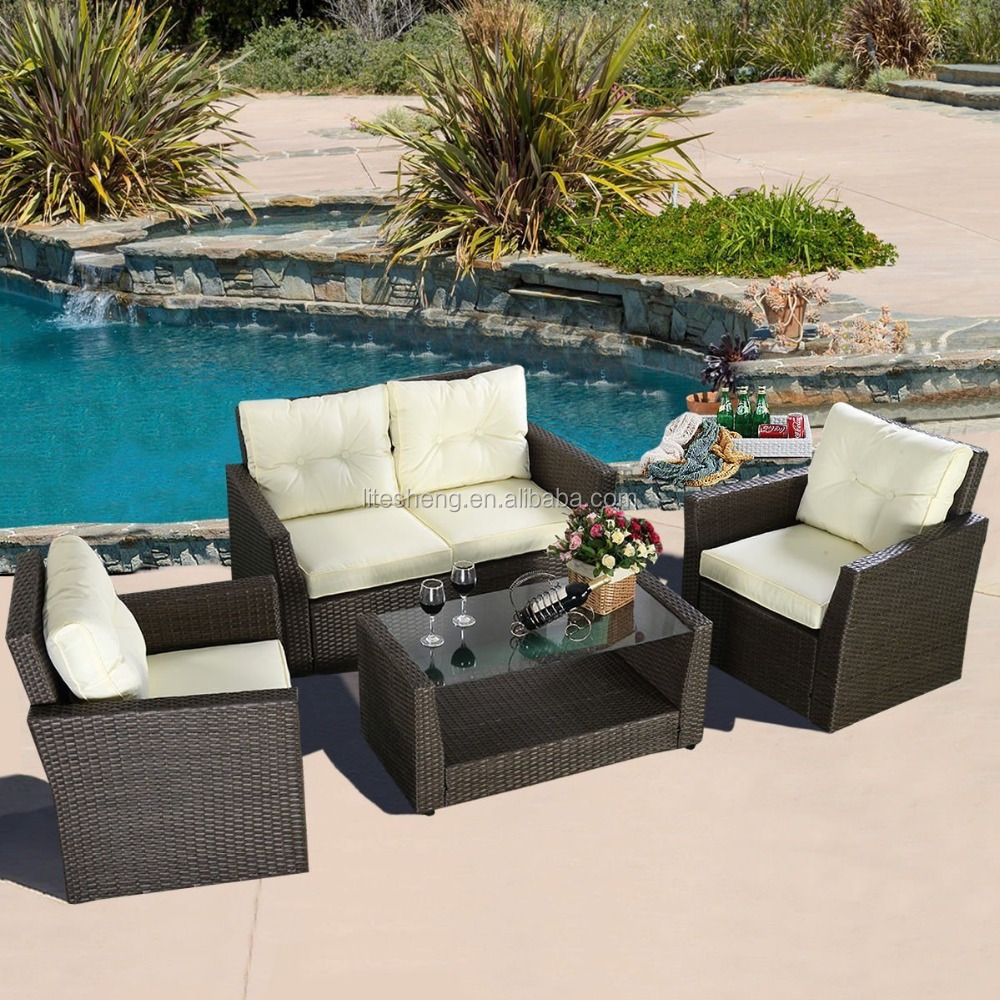 Life style comfortable outdoor furniture rattan mordern for Comfortable porch furniture
