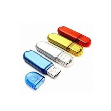 plastic USB flash drive with Color optional custom logo