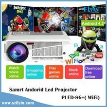 2015 Brand New ! Multimedia WXGA 1280x800 Native resolution 4500 led Lumens 1080P Home Theater Full HD 3d Led Projector