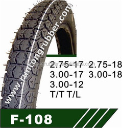 2.75-18 motorcycle inner tube and tire