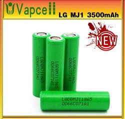 Authentic LG battery 18650 LG Battery 3.7v LG battery LGHE2/LGHE4/LG 2600MAH/LG D1/ LG MH1/LG MJ1 18650 LI-ION Battery