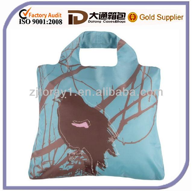 2013 oem полиэфира складные хозяйственные сумки