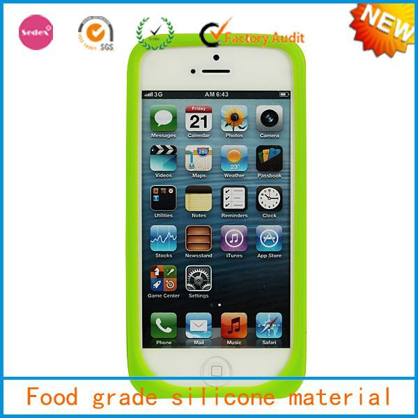 silicone Mobile Phone Accessories for iphone,fashional mobile phone cover for iphone 5s