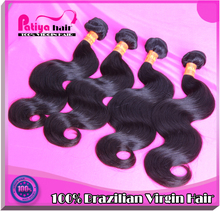 Top quality full cuticle no splits ends raw unprocessed human natural hair extensions
