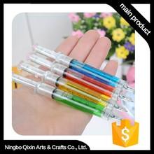 Hot Sale Syringe Shaped Function 0.5mm Ballpoint Pen