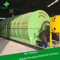 Waste Tyre Pyrolysis Plant To Crude Oil Without Pollution