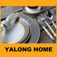 china wholesale custom halloween ceramic spanish dinnerware set