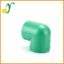 Hot sale good quality ppr pipe fittings ppr 90 elbow plastic pipe covers