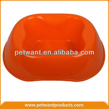pet plate pet food bowl fancy dog bowl cheap plastic dog bowls