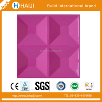 Decorative material 3d wall board price with fireproof feature and high strength