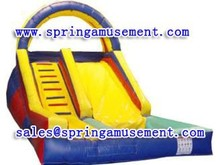 New style colorful inflatable slide with arch, inflatable slide for pool SP-PS035