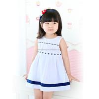 80189 kids clothing wholesale hot sale baby dress sweet girl causal dress