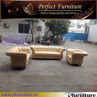 Italian style golden luxury furniture sofa classic PFS1518