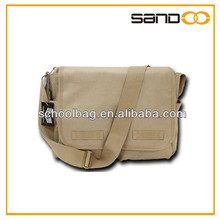 2015 factory men canvas casual sling bags
