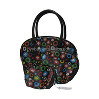 Dots Travel cosmetic bag sets for women, High quality brush bags, big luggage bag