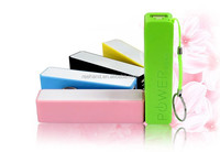 18650 battery 2200mAh mobile phone charger with multi-color for choice