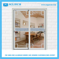 Good quality soundproof pantry sliding doors with aluminum alloy