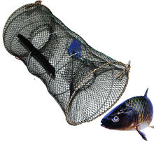 New Foldable Crab Fish Pot Crawdad Lobster Shrimp Fishing/fish Net Eel Bait Trap Cast Net 18216