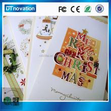 Popular Chinese creative music Christmas card