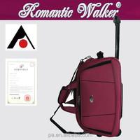 Manufacturer OEM/ODM Simple life Travel Bag Type lightweight 2 wheels EVA luggage bags