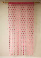 Heart line promotion panel string curtain for door