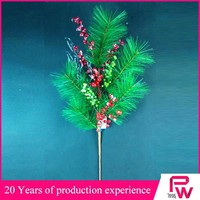 green needle branch decoration for office new year