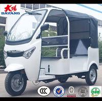 new type 4 seats bajaj auto taxi three wheel motorcycle
