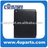 NEW for apple ipad2 case cover protective case laptop bag with pu or genuine leather + PC fixer