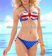 England flag bikini ladies' sexi swimwear