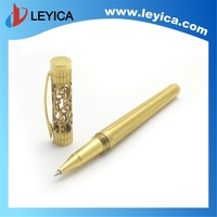 Highlight the status and taste sculpture gold pens