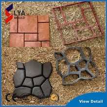 mould for garden pathway stepping stone