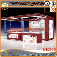 fashion retail store display furniture for makeup cosmetic showcase