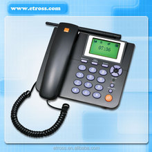 1 SIM Card GSM FWP Fixed Wireless Phone WP 623 with LCD / Desktop Phone supports SMS ,Headset