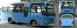 BIGMT 6750QC YUCHAI diesel motor bus,Eourope 2 standard.top speed 105KM 28+1 seats gasoline/CNG optional