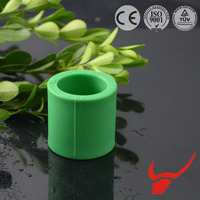 Water Pessure Water and Gas Supply Plastic PPR Pipe Fittings Coupling for connecting water pipe J